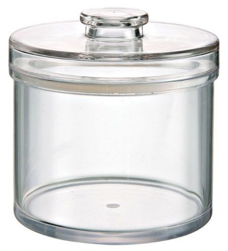 42 OZ Round Jar, Sealed Lid, MS, Foodsafe
